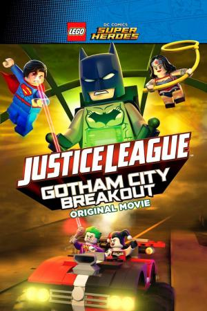 LEGO DC Comics Super Heroes - Justice League - Gefängnisausbruch in Gotham City (2016)