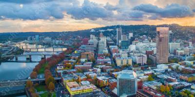 Hakenkreuze in Portland